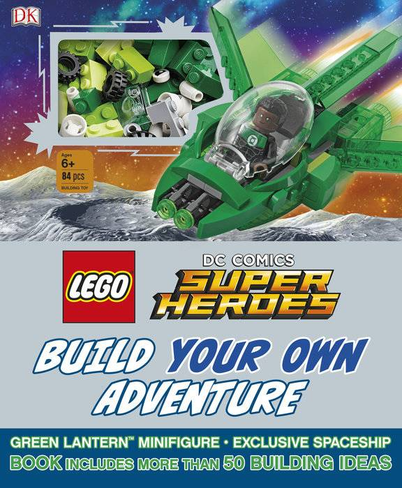 Penguin Random House LLC Lego DC Super Heroes build your own