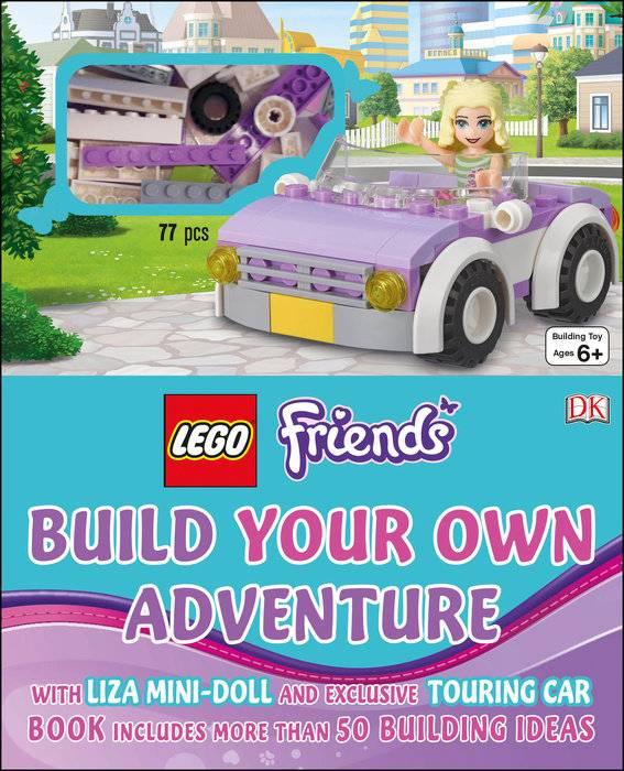 Penguin Random House LLC Lego Friends build your own adventure