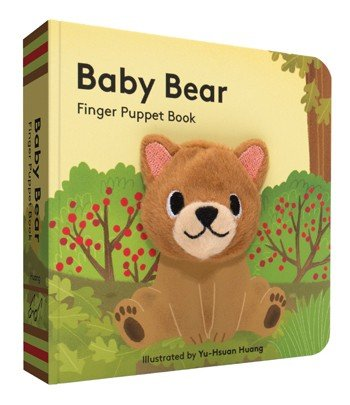 Chronicle Books/Hachette Book Group USA Baby Bear Finger Puppet Book
