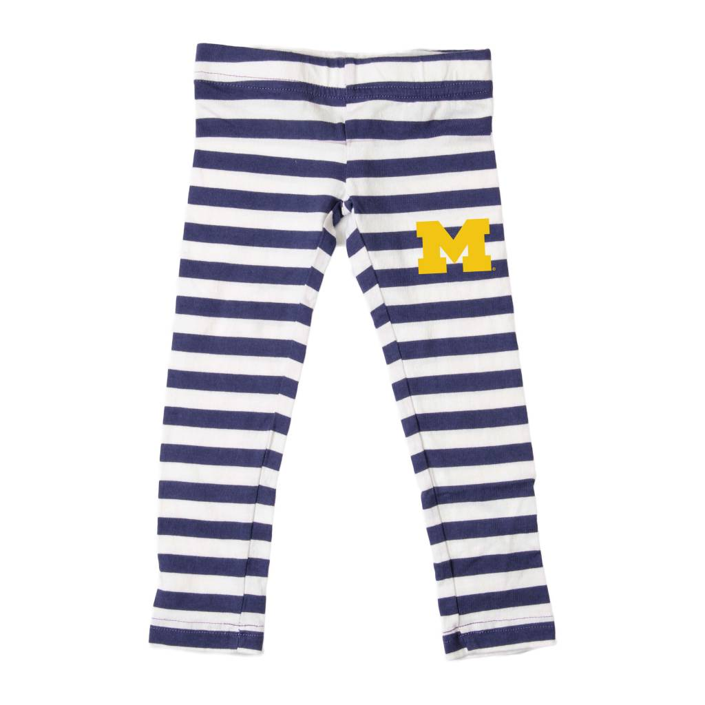Wes and Willy Michigan Stripe Leggings