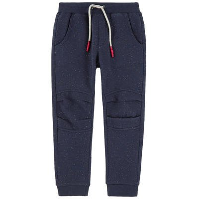 3 Pommes Blue Speckled Joggers