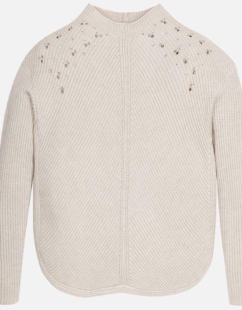 Mayoral USA Beige Sparkle Sweater