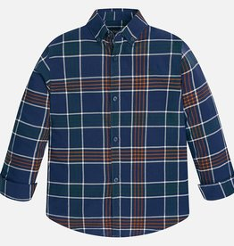 Mayoral USA Blue Check Shirt