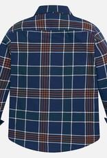 Mayoral USA Blue Check Shirt