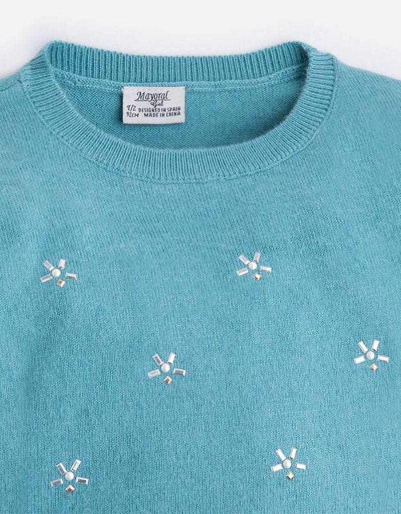 Mayoral USA Ocean Knit Sweater