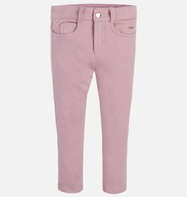 Mayoral USA Pink Fleece lined pants