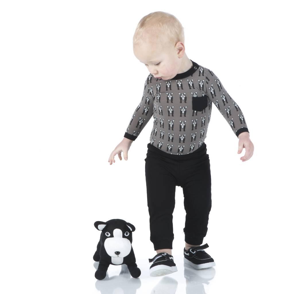 Kickee Pants French Bulldog shirt and pant set