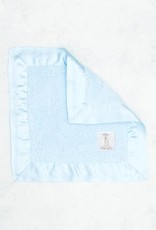 Little Giraffe Blue Chenille Blanky