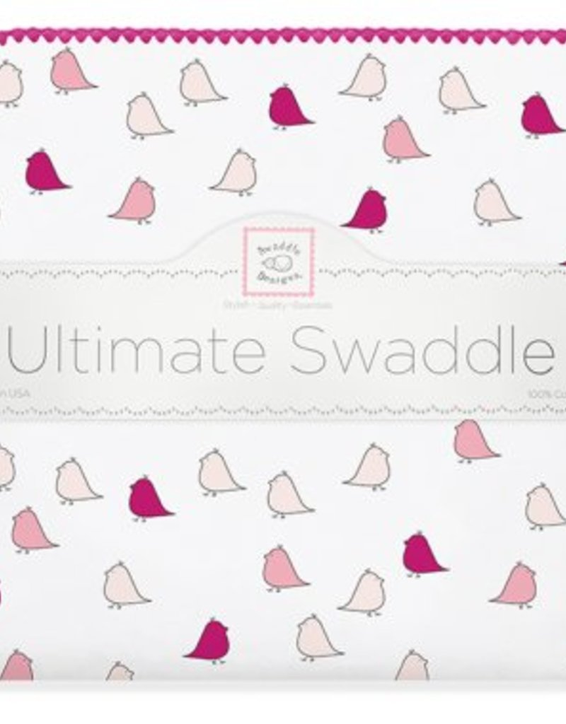 Swaddle Designs Very Berry Little Chick Swaddle