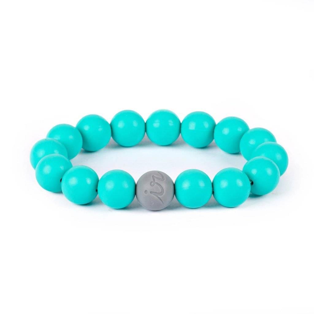 Itzy Ritzy Turquoise Teething Bracelet