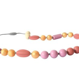 Itzy Ritzy Blush Sunset Necklace