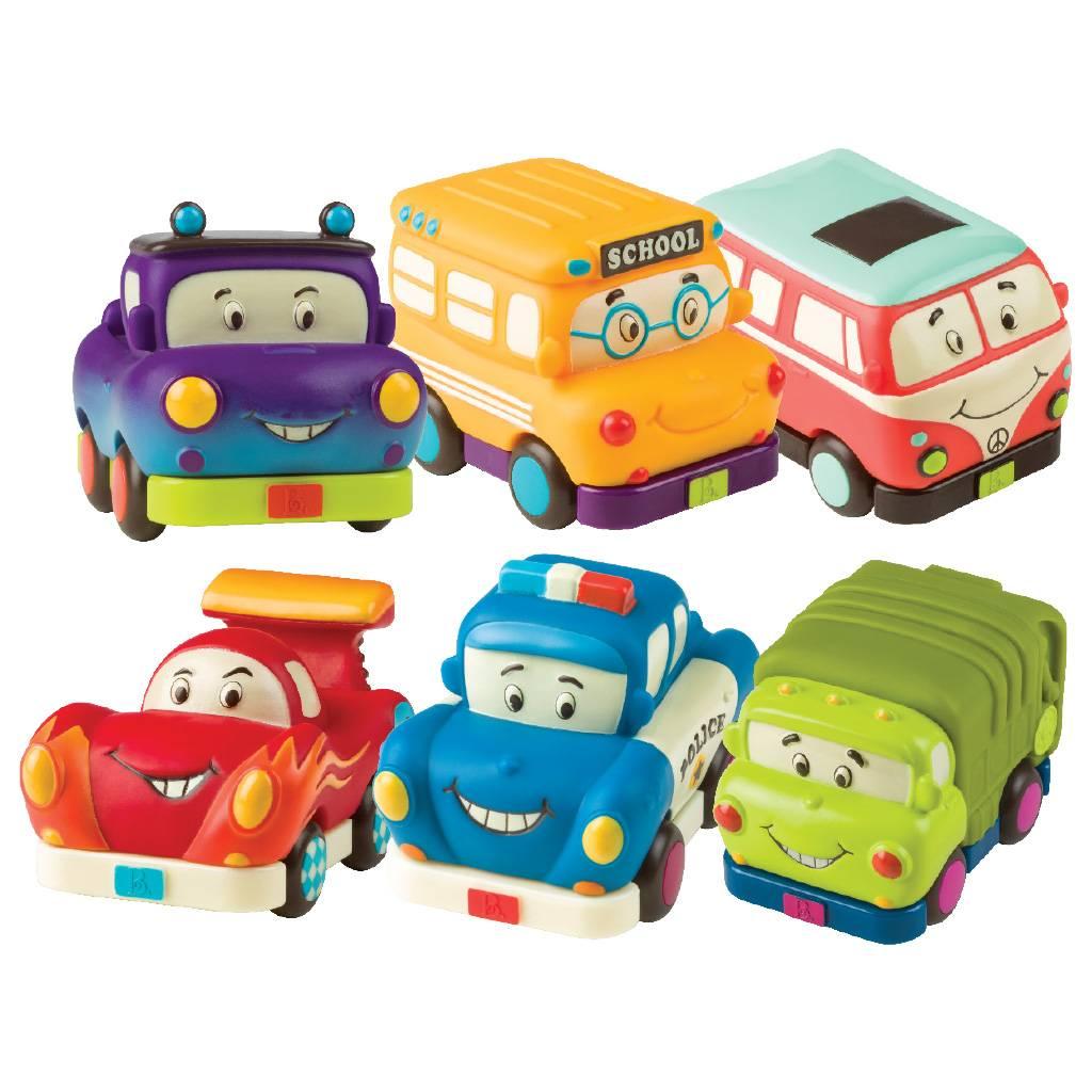 Toysmith Mini Pull Back Vehicles