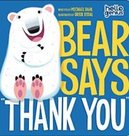 "Capstone Publishers Bear Says, ""Thank You"""