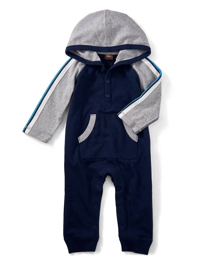 Tea Collection Ewan Hoodie Romper