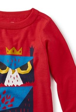 Tea Collection Horned Owl Graphic Tee