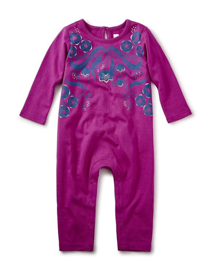 Tea Collection Rosewell Graphic Romper