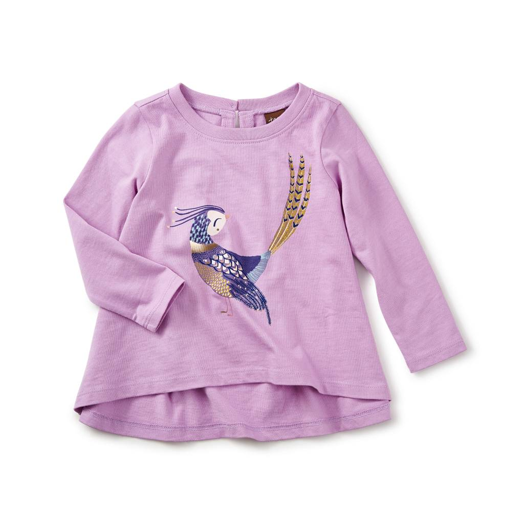 Tea Collection Pheasant Graphic Tee