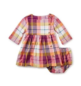 Tea Collection Plaid Flannel Baby Dress