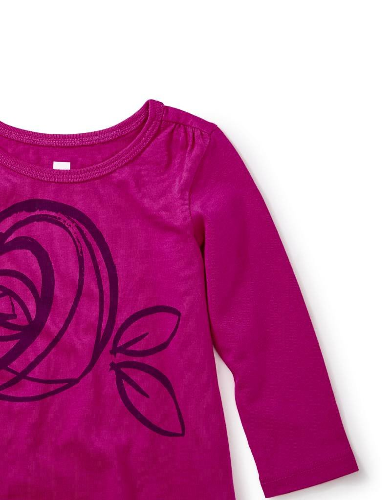 Tea Collection Mackintosh Rose Graphic Tee