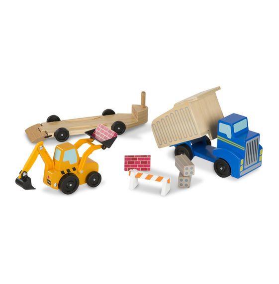 Melissa & Doug, LLC Dump Truck and Loader