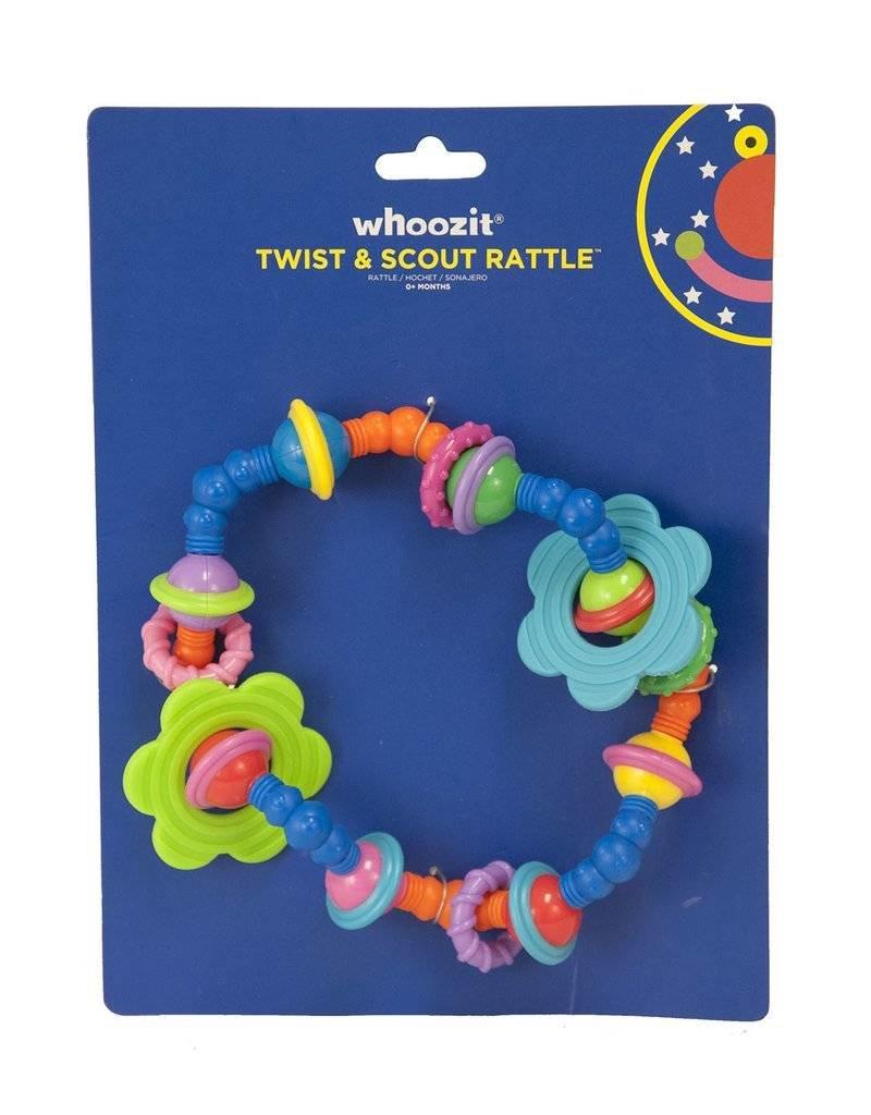 Manhattan Toy Whoozit Twist & Scout Rattle