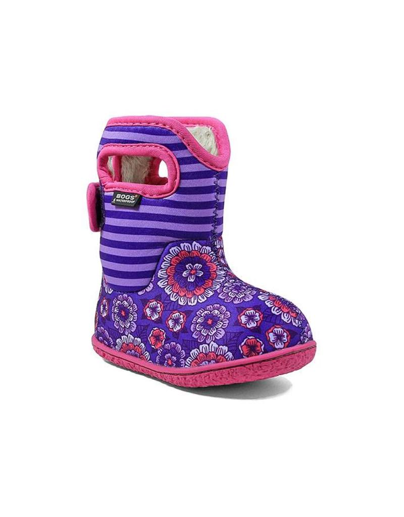 Bogs Pansy Baby Bogs Violet Multi