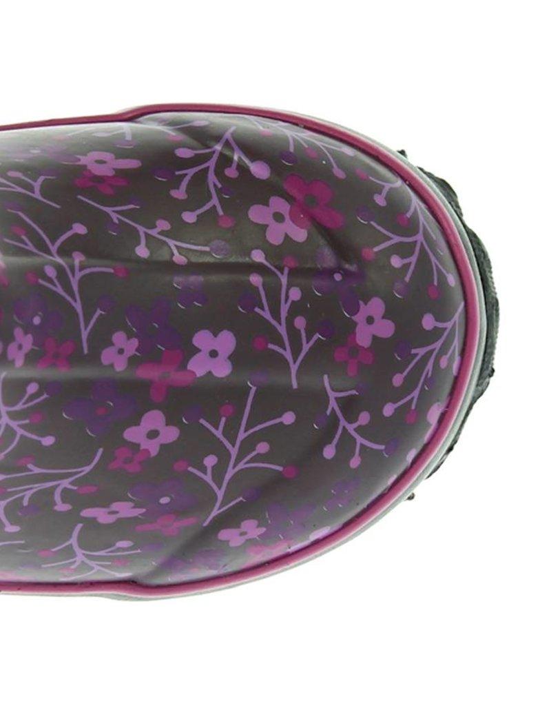 Bogs Classic Flower Stripe Purple Multi
