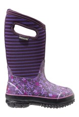 Bogs Classic Flower Stripe Purple Multi