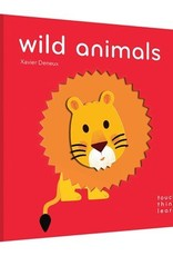 Chronicle Books/Hachette Book Group USA Wild Animals by Xavier Deneux