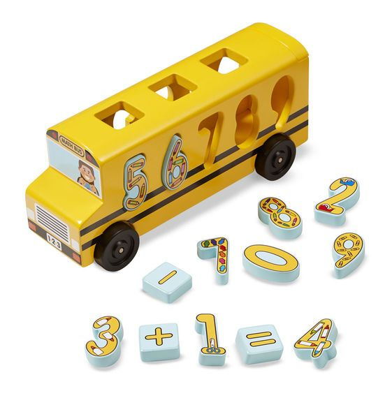 Melissa & Doug, LLC Number Matching Math Bus