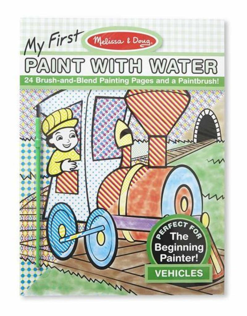 Melissa & Doug, LLC my first paint with water vehicles