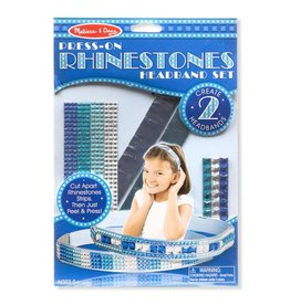 Melissa & Doug, LLC Press-On Rhinestones Headband Set