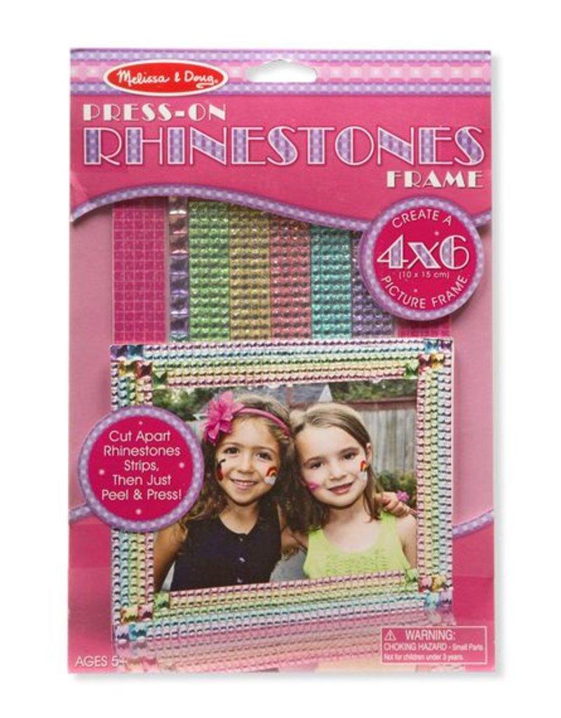 Melissa & Doug, LLC Press-On Rhinestones Frame