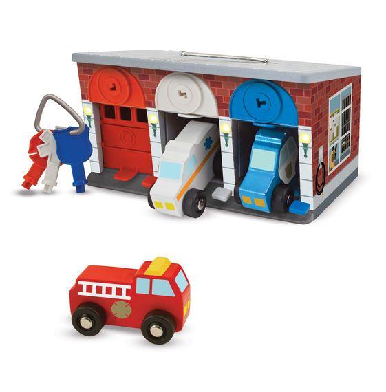 Melissa & Doug, LLC Keys Cars Rescue Garage