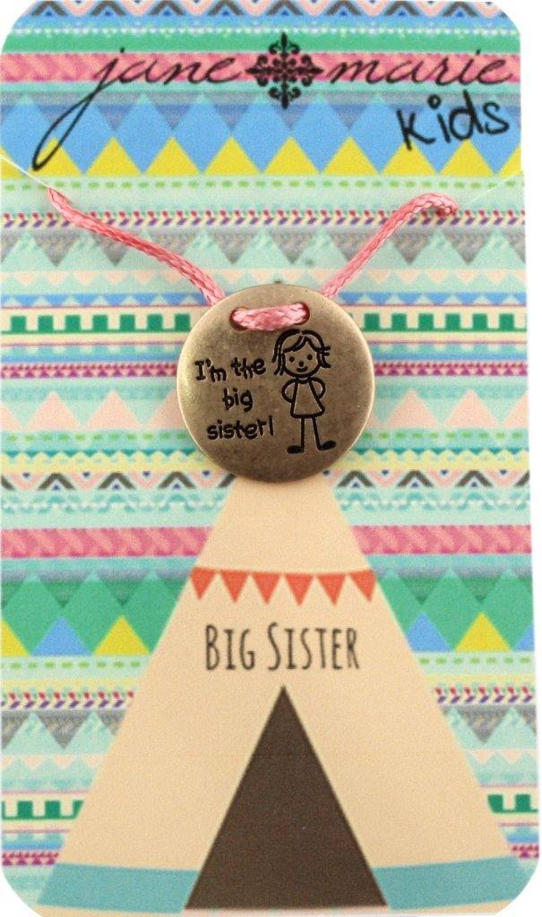 Jane Marie Big Sister Necklace