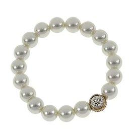Jane Marie Pearl Stretch Bracelet