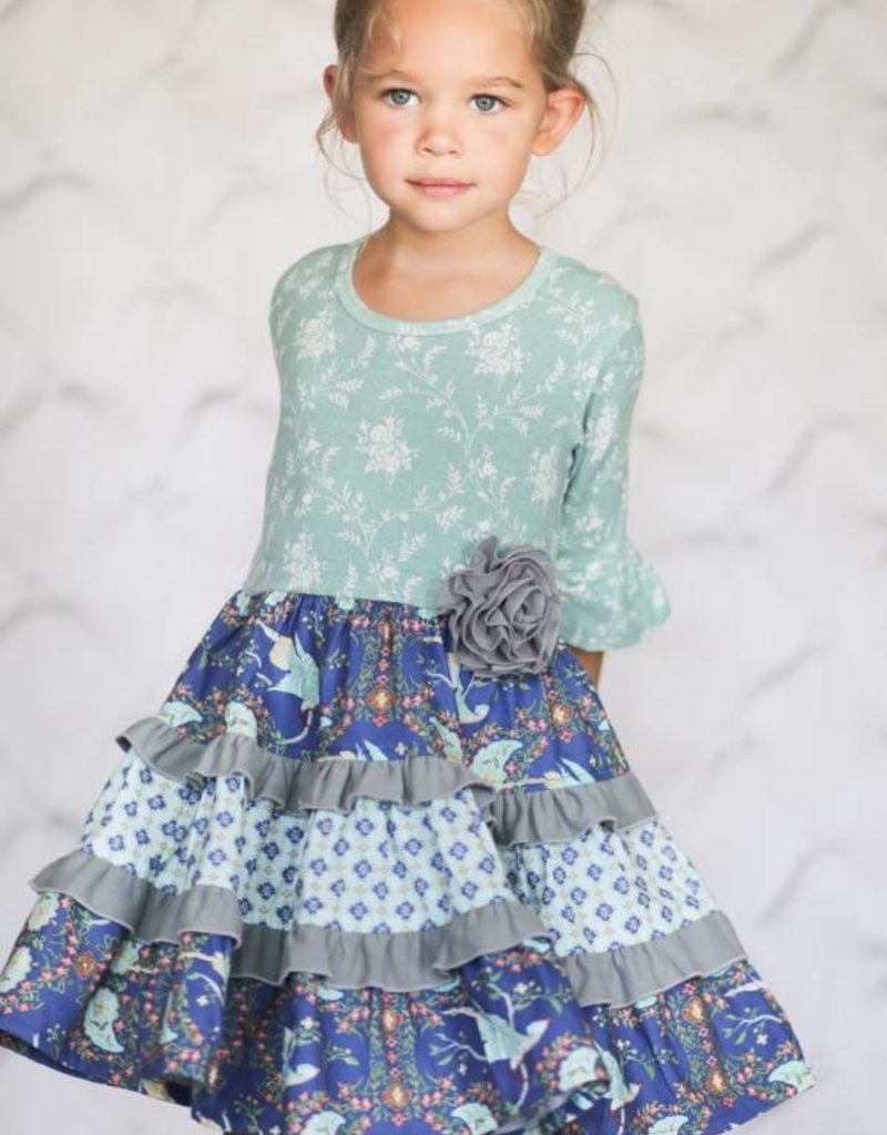 Giggle Moon Brilliant Sapphire Party Dress