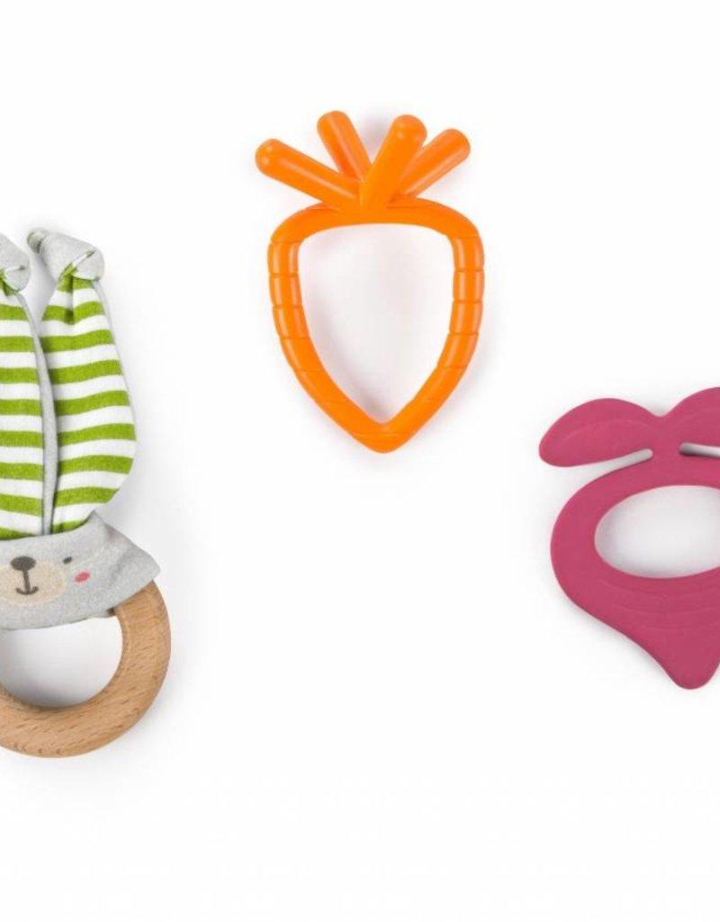 Toysmith Bunny Bites Teething Set