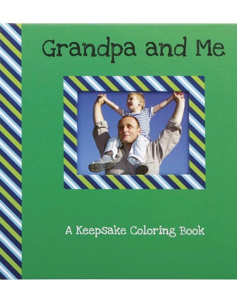 Grandpa and Me Keepsake Coloring Book