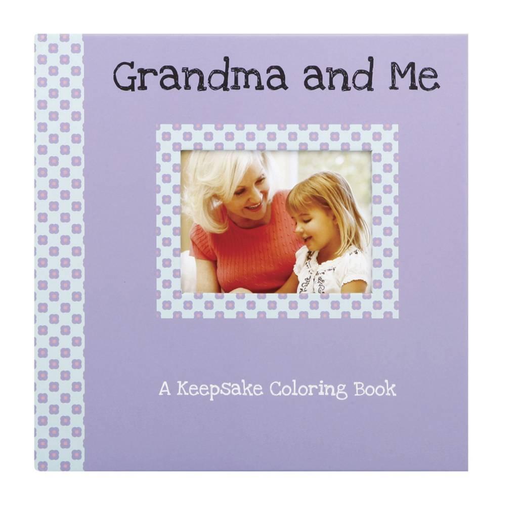 Grandma and Me Keepsake Coloring Book