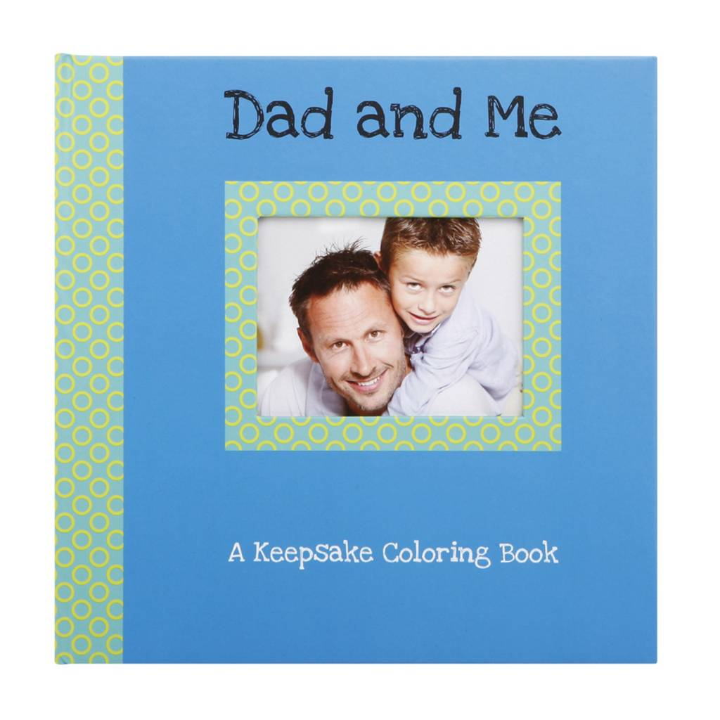 Dad and Me Keepsake Coloring Book