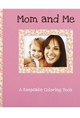 Mom and Me Keepsake Coloring Book