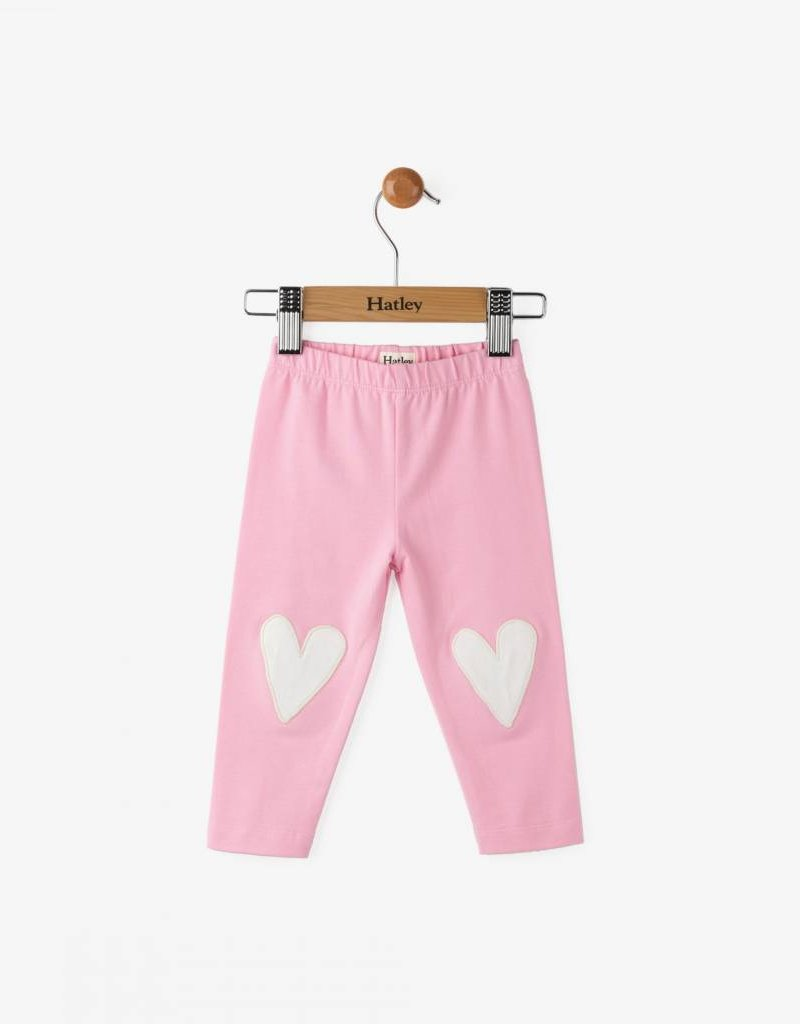 Hatley Glittering Hearts Mini Leggings
