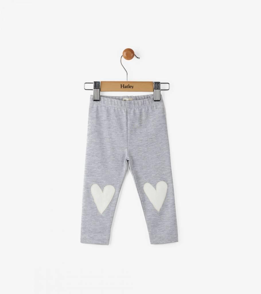Hatley Glittering Hearts Mini Leggings