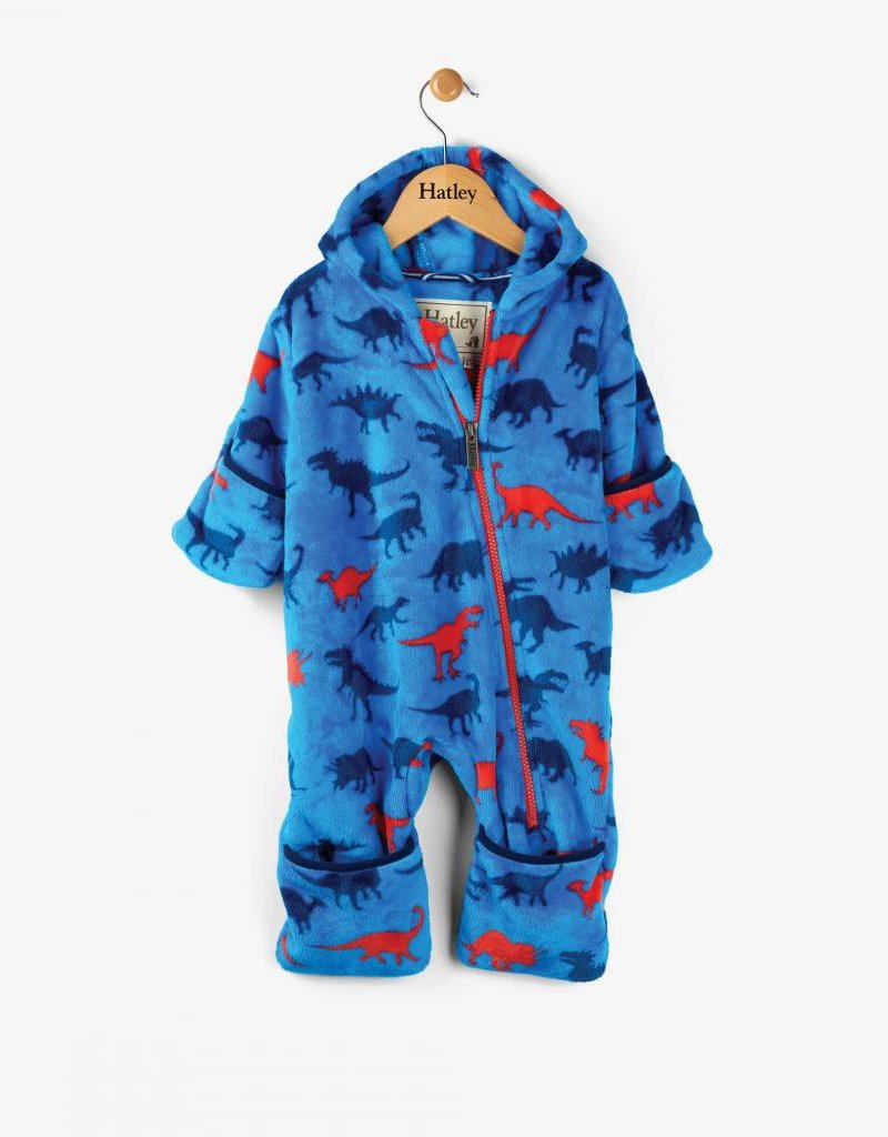 Hatley Dinosaur Shapes Fleece Bundler