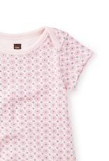 Tea Collection Flutterby Bodysuit Set Rose Petal