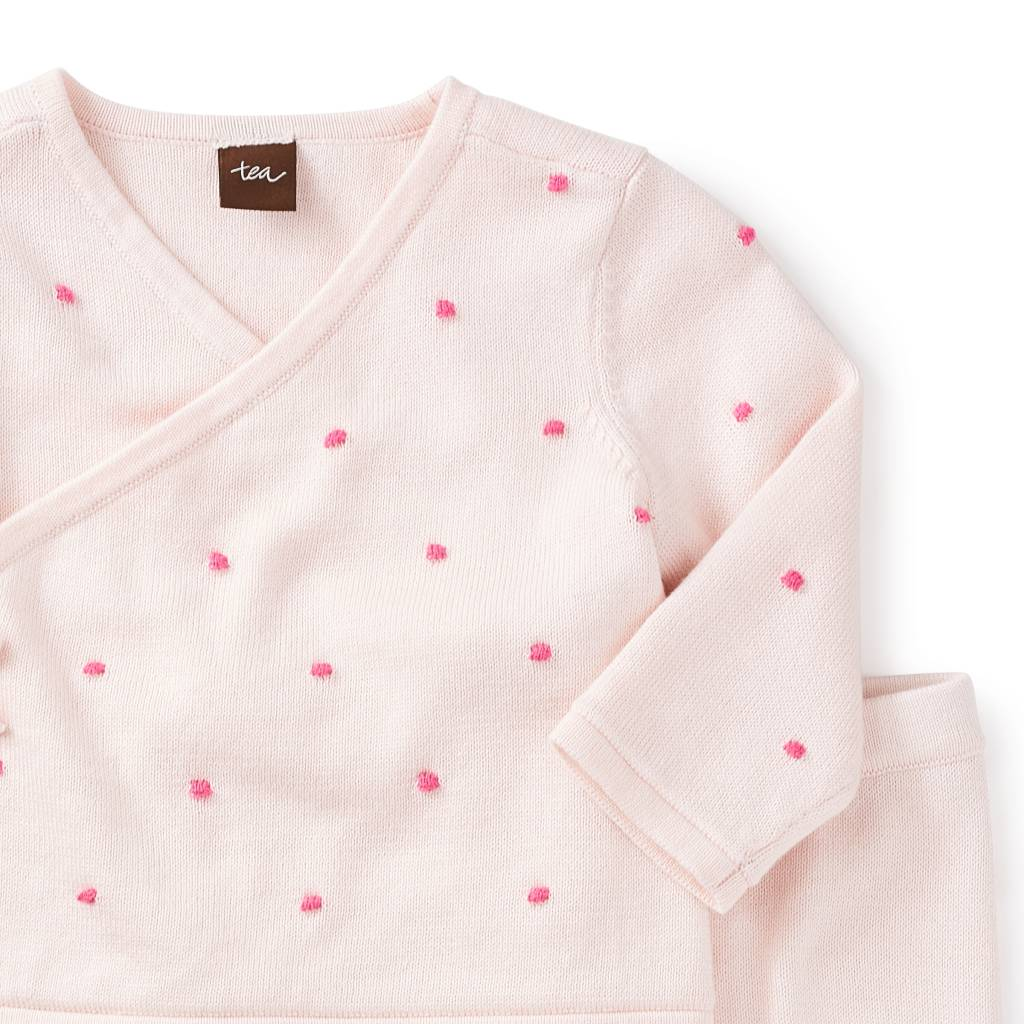 Tea Collection Mila Wrap Sweater Outfit