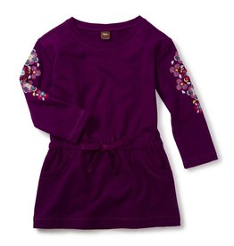 Tea Collection Cosmic Berry Willow Drawstring Dress
