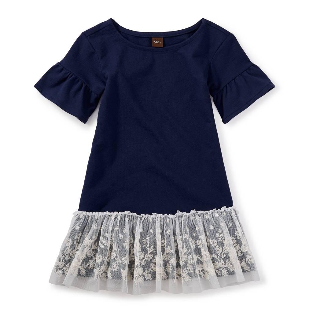 Tea Collection Beluga Ottie Embroidered Tulle Dress