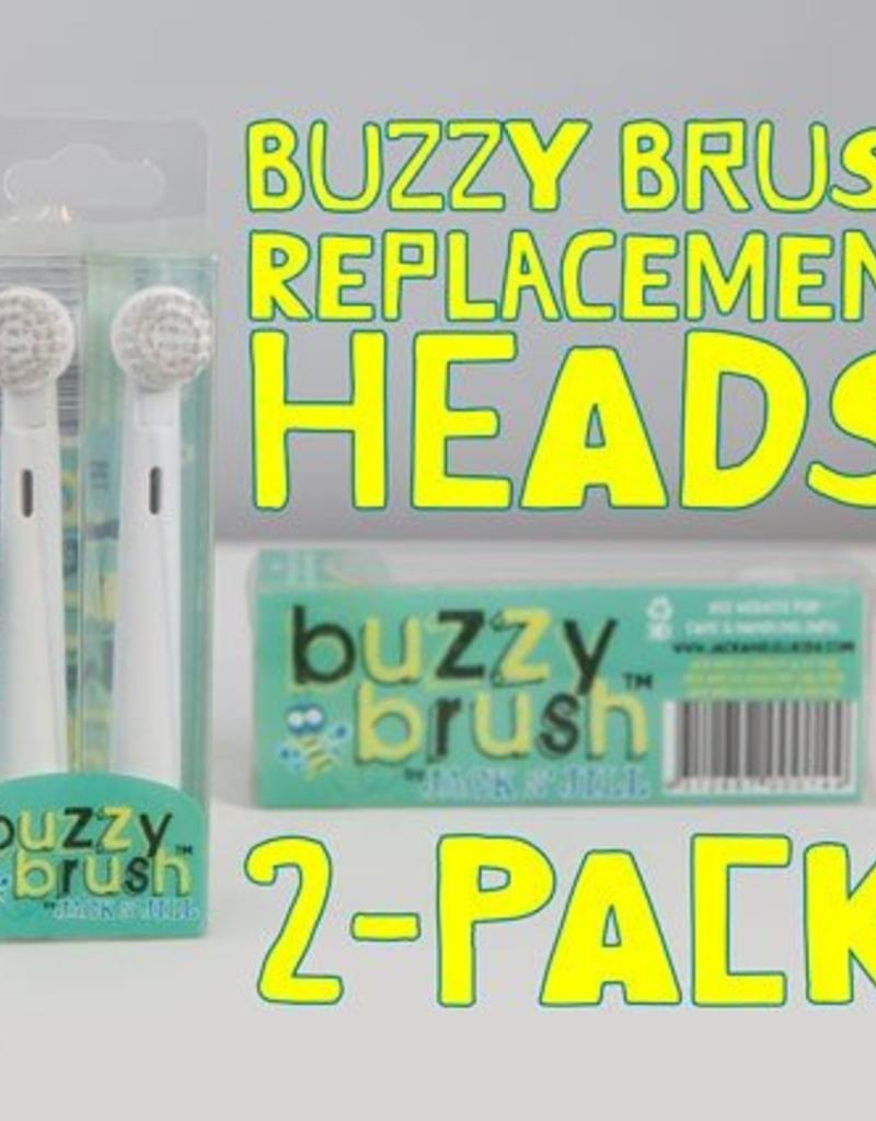 Jack and Jill Kids Buzzy Brush Replacement Heads
